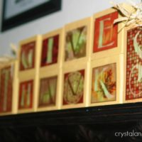 Thanksgiving Crafts | Wooden Block Project