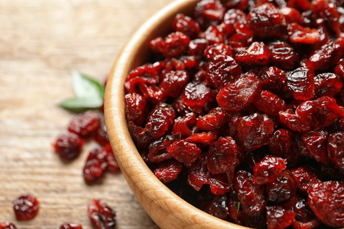 Dried Cranberries for Lava Lamp Drink