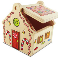 FREE Lowes Workshop   Gingerbread House