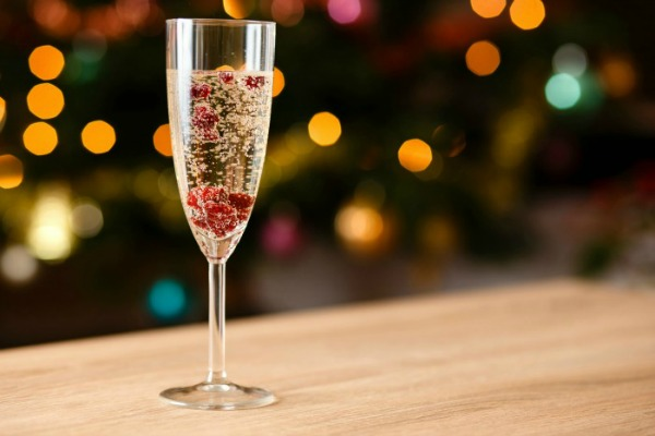 How to make a Lava Lamp New Year Drink