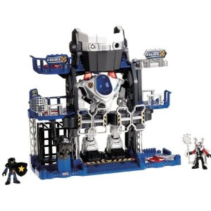 Imaginext Robot Police Headquarters
