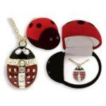 Ladybug Necklace for $6.09 Shipped