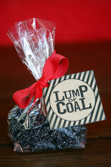 Free Printable Lump of Coal Tag