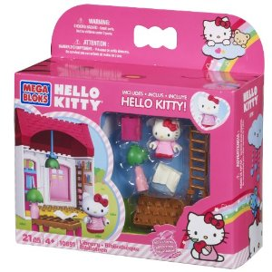 Mega Bloks Hello Kitty Library
