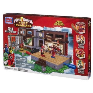 Mega Bloks Power Rangers Samurai Battle