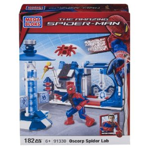 Mega Bloks Spiderman Spider Lab
