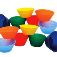Mini Muffin Silicone Baking Cups for $9.55 Shipped