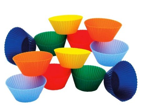 Mini Muffin Silicone Baking Cups
