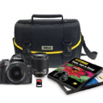 Nikon D3000 Digital SLR Camera Bundle for $399.99 Shipped