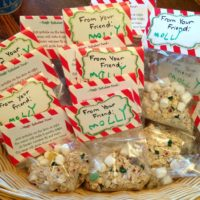 Reindeer Food Recipe and Free Printable