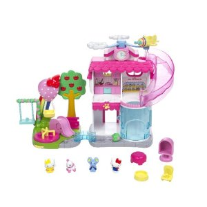 Squinkies Hello Kitty Town Dispenser