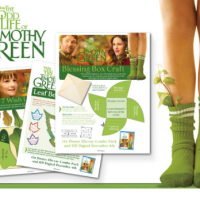 FREE Printable Crafts | Count Your Blessings from The Odd Life Of Timothy Green