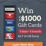 CouponTrade Gift Card Giveaway!