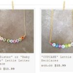 Darling Personalized Jewelry from Letties Betties Starting at $7.99