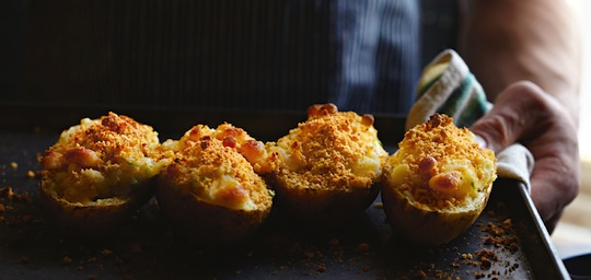 twice baked cheesy potatoes