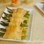 Bacon Wrapped Asparagus Rolls | Perfect for the Big Game