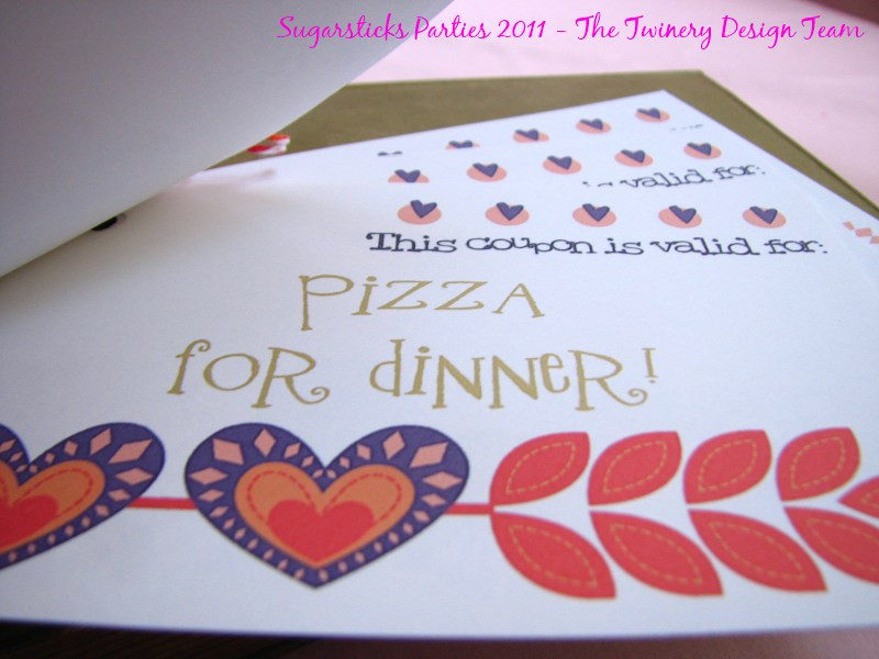 FREE Kids Valentines Day Coupon Book