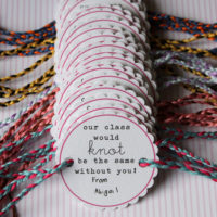 Friendship Bracelet Valentines FREE Printable and MORE!