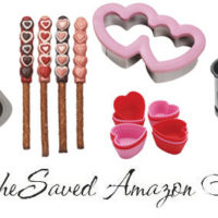 Heart Shaped Kitchen Baking Products on Amazon