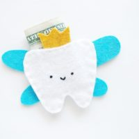 Kids Crafts   Tooth Fairy Pouch Craft