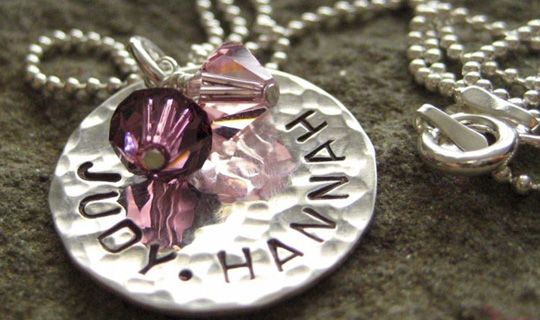 Personalized Mommy Necklaces
