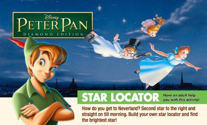 Peter Pan Star Locator