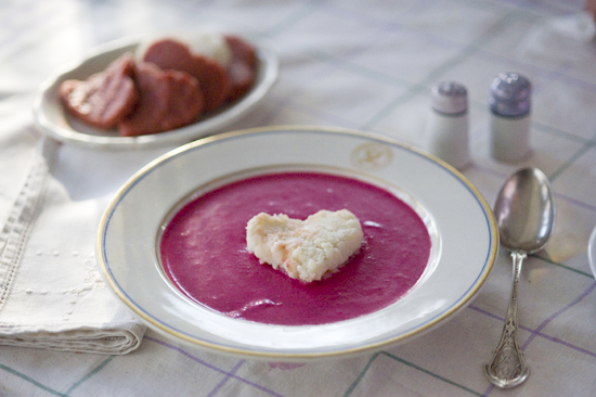 Pink Root Soup