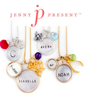 Proud Mama Hand Stamped Jewelry