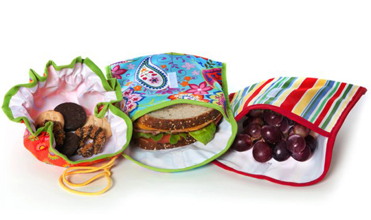 Reusable Lunch, Snack, Produce Bags
