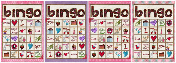 image about Valentine Bingo Printable named Absolutely free Printable Valentine BINGO - SheSaved®