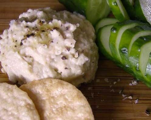 Zucchini Hummus | Healthy Game Day Snack