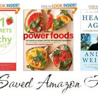 Healthy Living Book Deals on Amazon