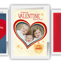 Military Valentines Day Cards for $0.99