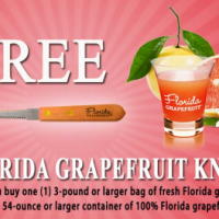 Rebate | FREE Florida Grapefruit Knife