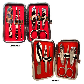 Animal Print Manicure Set