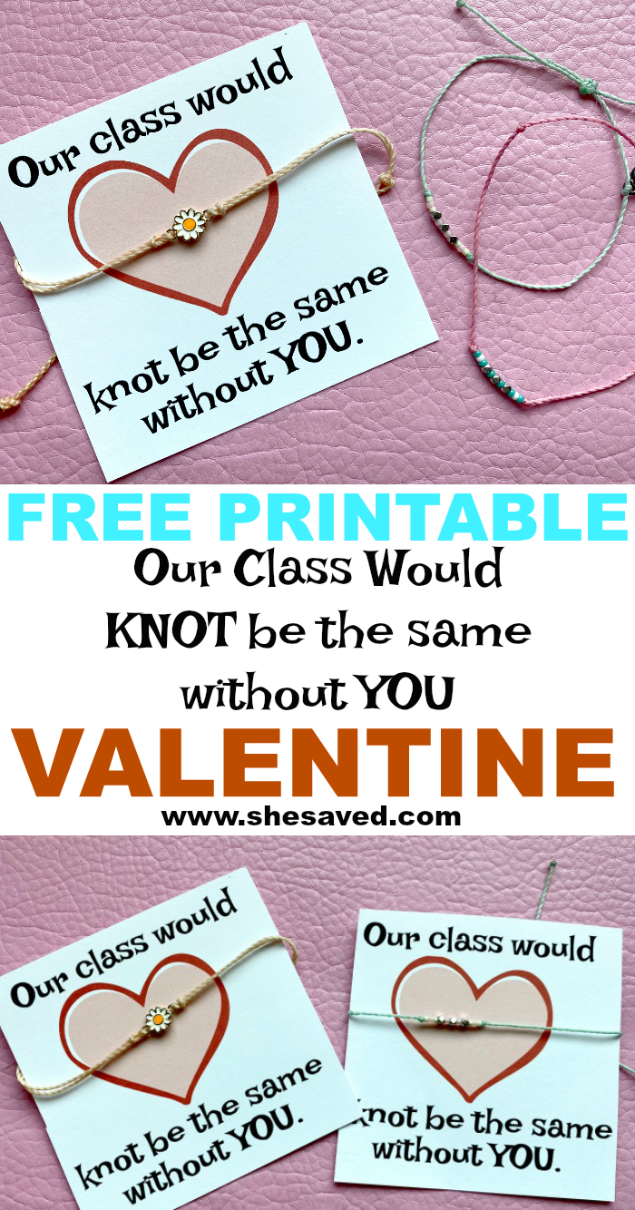 Class Would Knot Be The Same Valentine