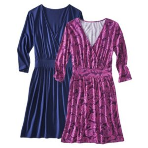 Crossover Knit Dresses
