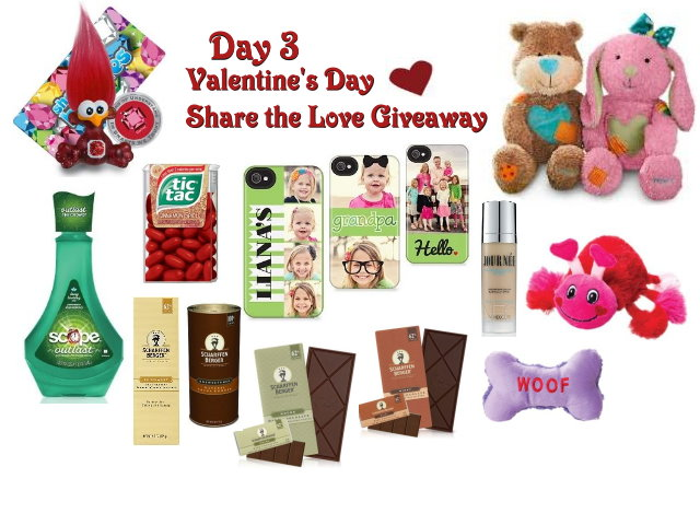 Day 3 Share the Love Giveaway
