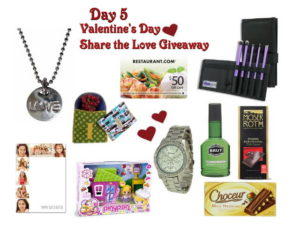 Day 5 Share the Love Giveaway