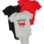 Disney Cars 3-Pack Infant Bodysuits for $5.90 Shipped