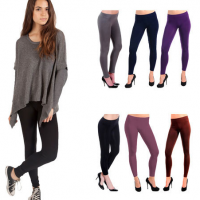 Fleece Lined Footless Tights 2 Pack for $9.99 Shipped