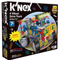 KNex 4 Wheel Drive Truck for $14.97 Shipped
