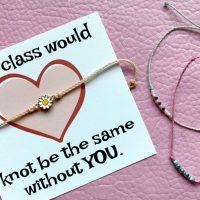 Friendship Bracelet Valentines FREE Printable and MORE!
