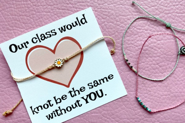 Our Classroom would KNOT be the same without you Valentine