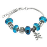Murano Style Charm Bracelets as low as $9.99