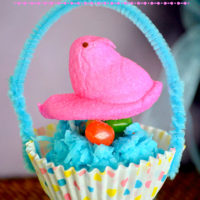 Peeps in a Basket | Fun Kids Craft for Easter