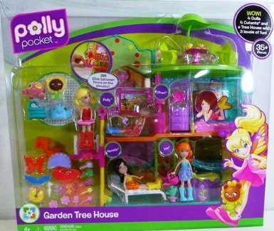 Polly Pocket Doll House Tour