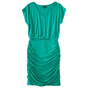 Womens Shirred Dress