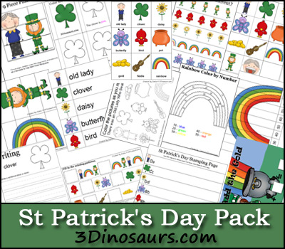 Free St Patricks Day Printable Pack