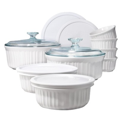 Corningware White Bake Set